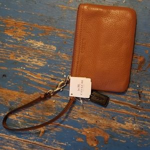 Coach brand leather wallet NWT